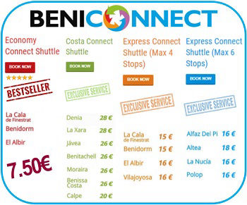 Alicante Airport Transfers with BENICONNECT