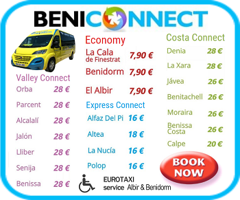 Alicante Airport Transfer book now