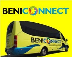Click for Beniconnect COSTA CONNECT shuttles.