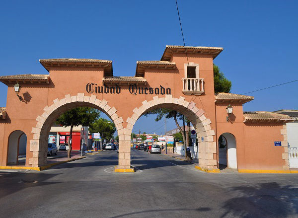 Alicante Airport Shuttle Transfers from Ciudad Quesada (arches).