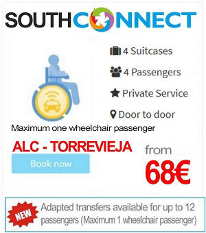 Wheelchair Adapted Alicante Airport Transfers